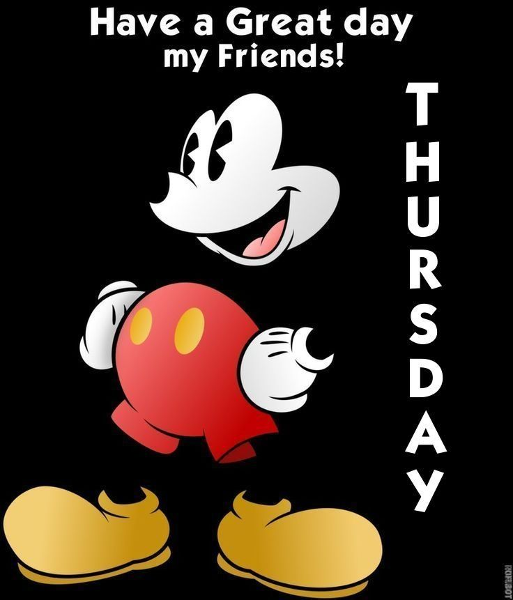 Have A Great Thursday Quotes Quote Disney Mickey Mouse