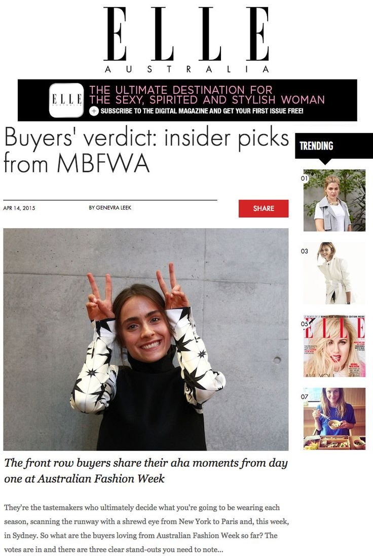 Elle Australia April 2015   macgraw