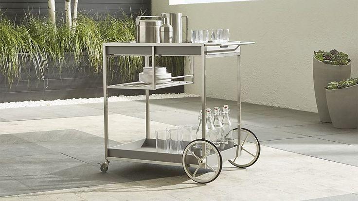 Dune Bar Cart | Crate and Barrel