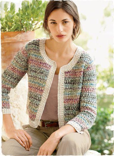 La giacca in stile Chanel, è u |
