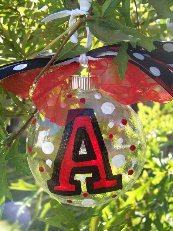 If you don't have times to make one of these cute            cheerleader personalized ornaments