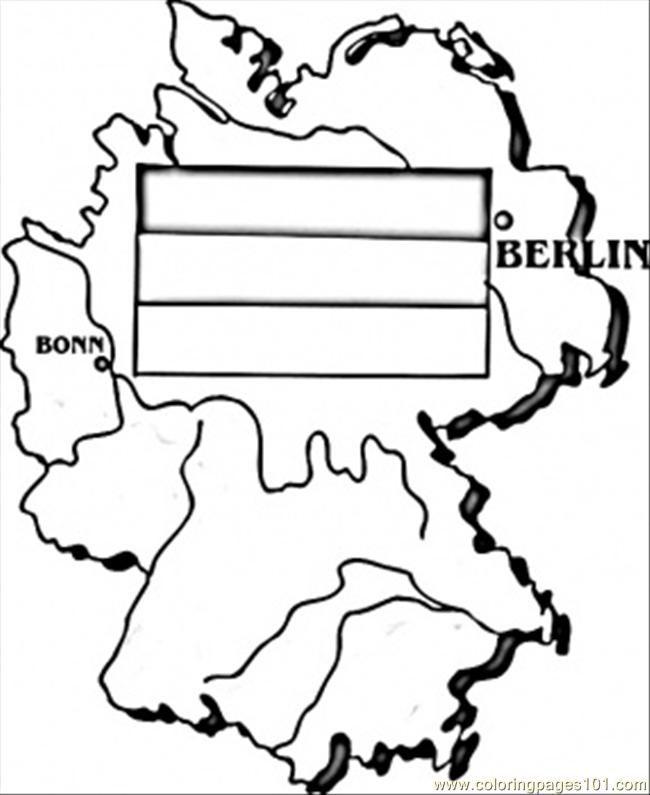 Map Of Germany Coloring Page Malvorlagen Fur Jungen Malvorlagen