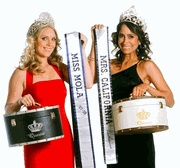 Pageant Sashes and crown boxes