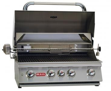 Bull BBQ Angus grill is a 4-Burner 30'' Stainless Steel Grill