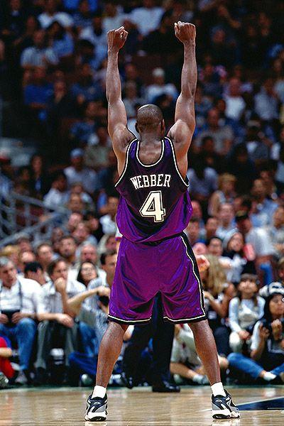 Chris Webber in glorious purple.