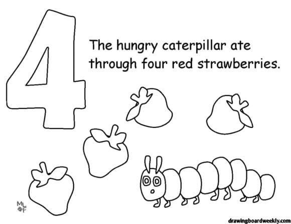 - Very Hungry Caterpillar Coloring Page In 2020 (With Images) Hungry  Caterpillar Activities, Hungry Caterpillar, The Very Hungry Caterpillar  Activities