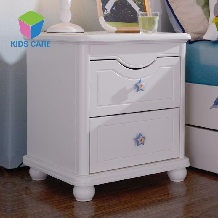 Белая детская тумба с ручками на ящиках в форме синих звезд купить в интернет-магазине мебели https://lafred.ru/catalog/catalog/detail/37131442807/