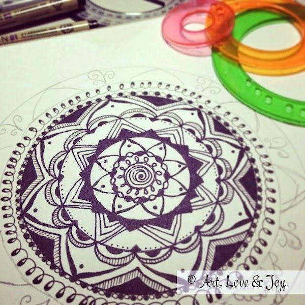 Art, Love & Joy: A post about Mandalas