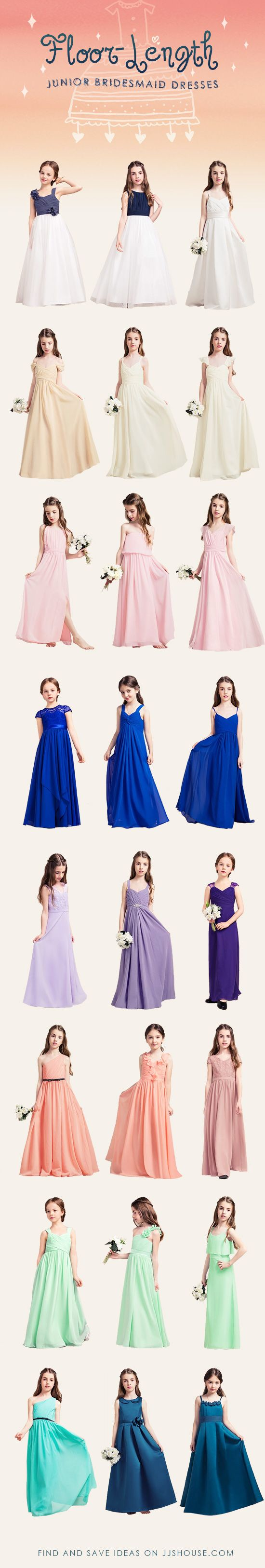 Floor Length Junior Bridesmaid Dresses Find And Save Ideas On JJSHOUSECOM