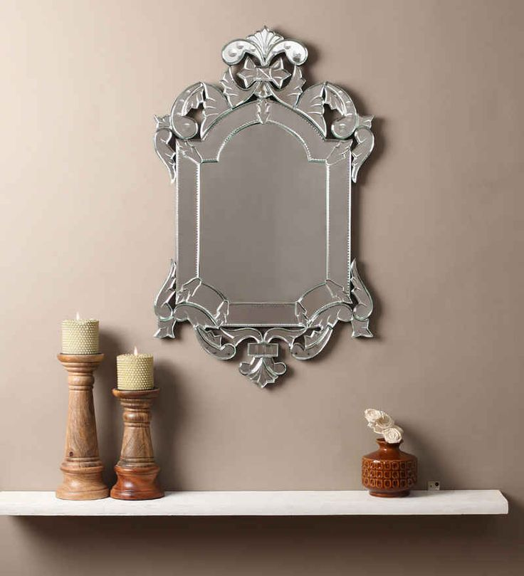 Noor Silver MDF Mirror #mirrors #mirror #reflectors #show #pinit #pinterest #shazliving Shop at: https://www.shazliving.com/