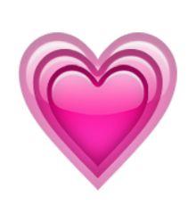 croissante cœur