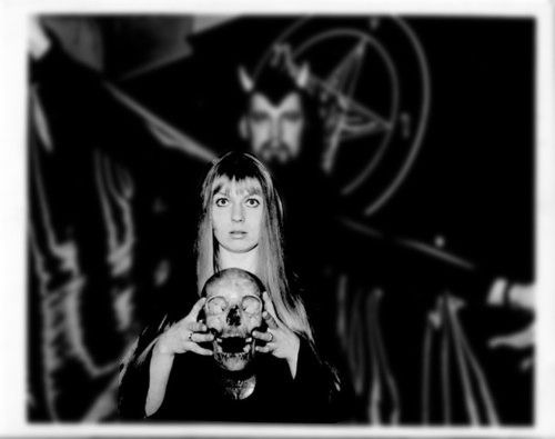 Diane LaVey, the motivational force behind the Church of Satan