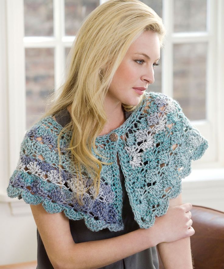 Courtney Capelet.  The button would be hard for my hands, but I sure need something like this.  A bed Jacket of sorts.