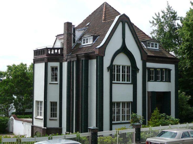 The Peter Behrens House at the Darmstadt Artists' Colony