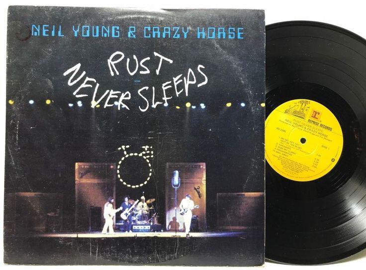Neil Young & Crazy Horse Rust Never Sleeps Reprise HS 2295 LP Vinyl Record Album stores.ebay.com/capcollectibles