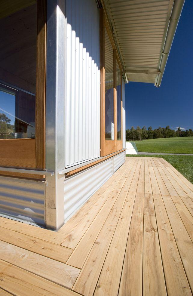 Ecoshelta - Stephen Sainsbury - Australia - Exterior Deck - Humble Homes