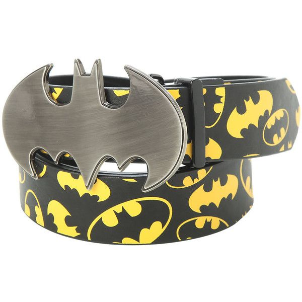 DC Comics Batman Reversible Belt Buckle Hot Topic ($20) ❤ liked on Polyvore featuring accessories, belts and buckle belt