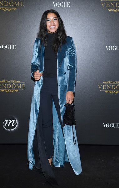 Hannah Bronfman wearing Self-Portrait at the Irving Penn Exhibition Private Viewing Hosted by Vogue in Paris