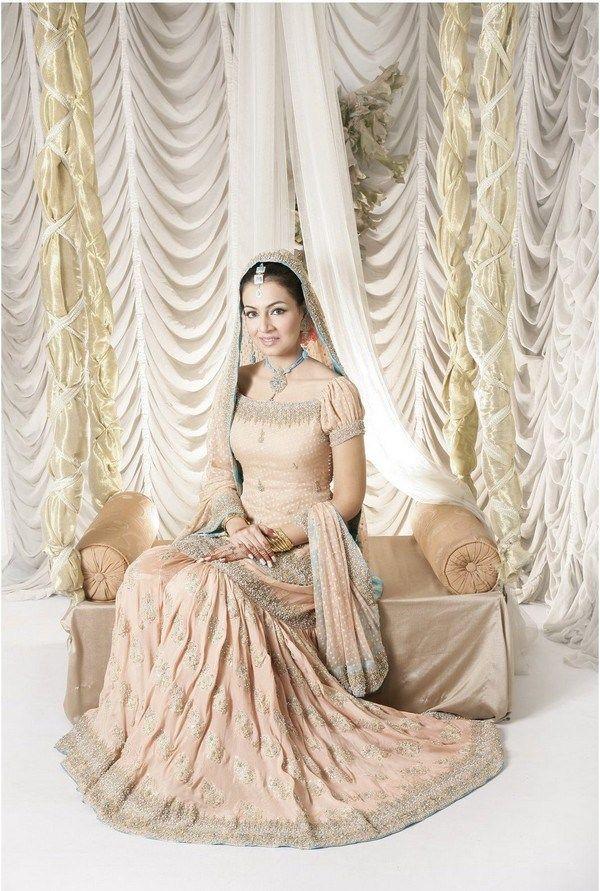 Latest & Unique Bridal Sharara Designs Collection