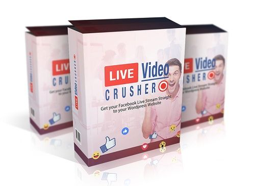 Live Video Crusher is a new wordpress plugin that allows you to automatically simulcast your Facebook Live videos on your website.  People can watch live, right from a page on your site, and see the archives of past live videos!