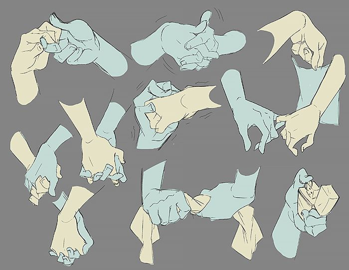 "nargyle: "" so I've been sorta kinda obsessed with hands for the past few days """