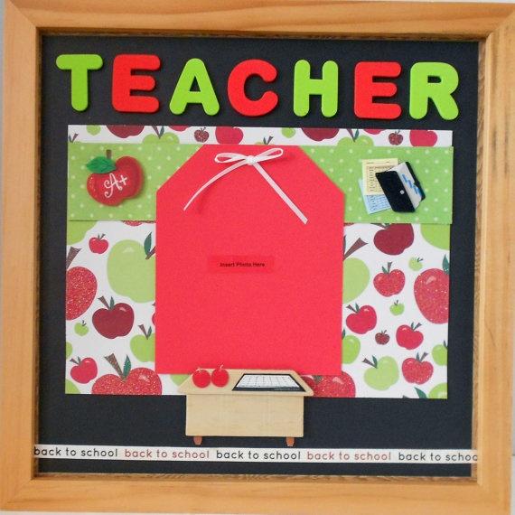Teacher Shadow Box by theshadowbox on Etsy, $40.00