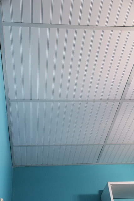 Replace Ugly Acoustical Ceiling Tiles With Sheets Of