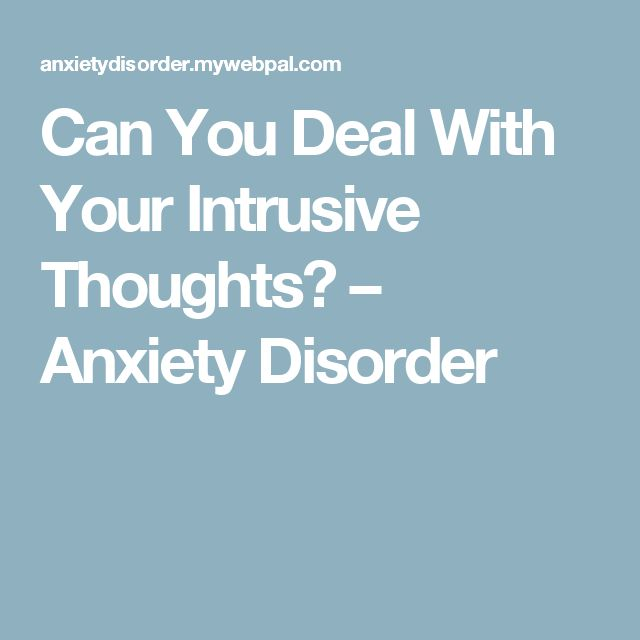 How To Naturally Treat Generalized Anxiety Disorder