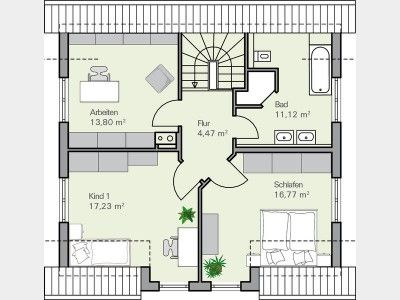 Grundriss dg grundriss f rs traumhaus floor plans for Grundriss traumhaus