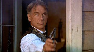 Mark Harmon in ''Crossfire Trail''  2001: