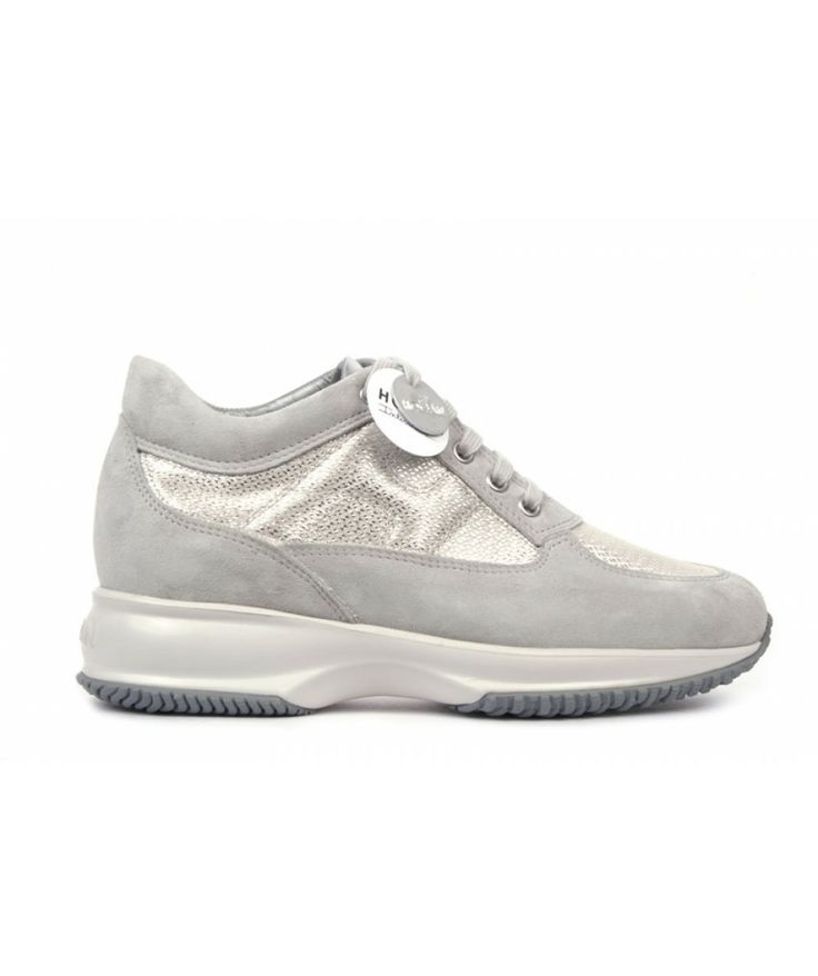 Fashion Hogan Interactive Women Gray Shoes