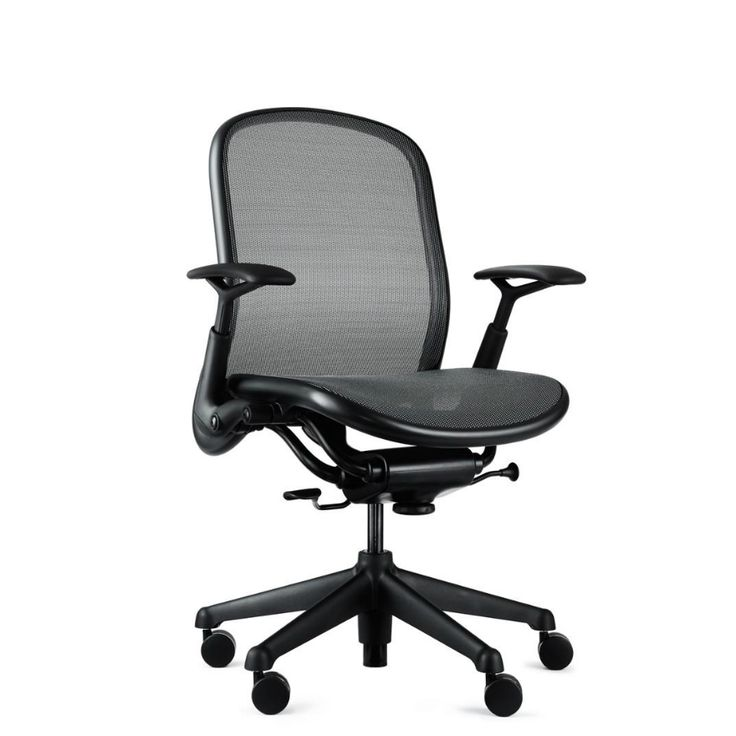 Knoll Chadwick Task Chair Full Mesh Modeled After The Aeron In Stock Now 4 These Chairs Are Commercial Grade And Very Comfortable