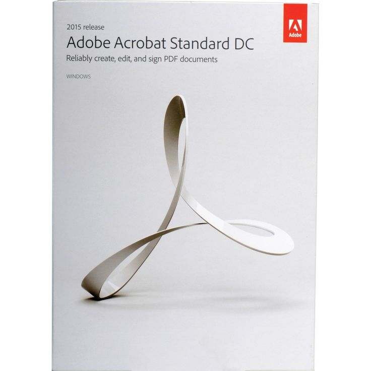 Adobe Acrobat DC Standard (Windows) (Instant)