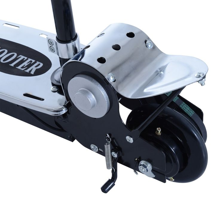 Aosom 120W Teen Folding Electric Scooter with Seat -