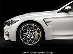 BMW M3 Competition package or BMW M4 Competition package = unadulterated racing feel and look