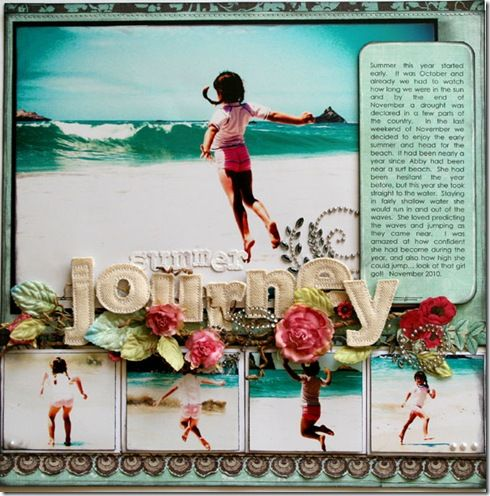 Just start anywhere you want!  Scrapbook a special Christmas, vacation or even a big anniversary!  It's contagious