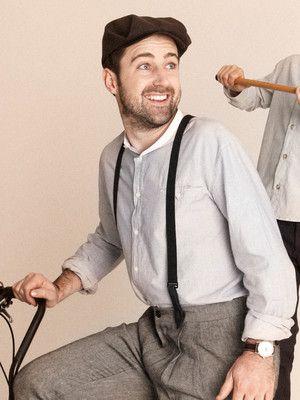 burda style, Schnittmuster Männer -  Hemd mit Stehkragen und kleiner Paspeltasche, Nr. 137 aus 04-2013  - Foto: Benjamin Schmidt