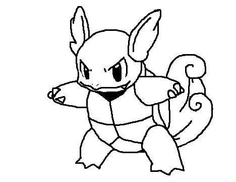 Free Background Coloring Pokemon Coloring Pages Squirtle
