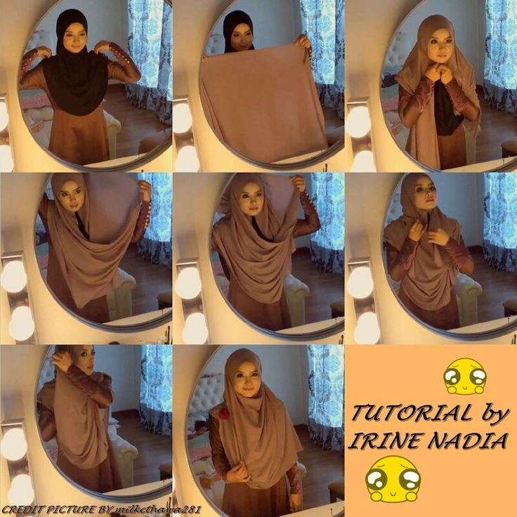 hijab tutorial cover the chest