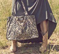 wylder jane ainsley handbag. explore cities, cruise the malls or hit that high-powered business meeting with this elegant handbag on your arm! #handbag #durablehandbag #stylishhandbag #oilcloth