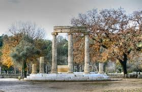 Ancient Olympia, Greece.In Ancient Greece, Olympia was sacred ground to the Greeks.