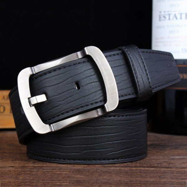 Stylish Alloy Pin Buckle Solid Color Men's Wide Belt #men, #hats, #watches, #belts, #fashion, #style