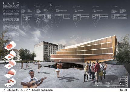 Concurso de Arquitetura | Escola do Samba