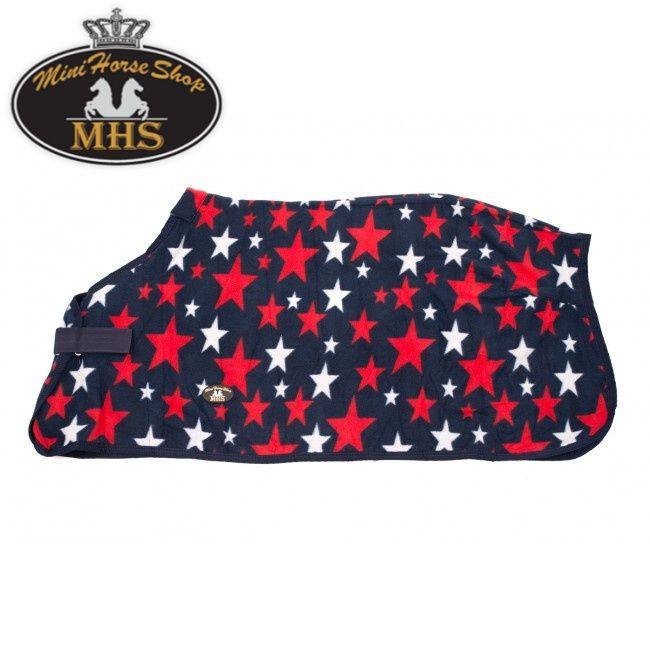 #MHS #Fleece Decke Stars. Bestellen Sie bei #MiniHorseShop vor 17:00 für Lieferung am nächsten Tag!