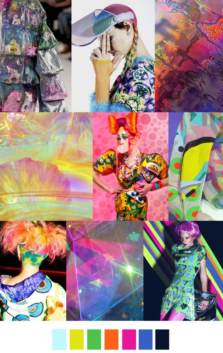 colour inspiration ACID HOUSE