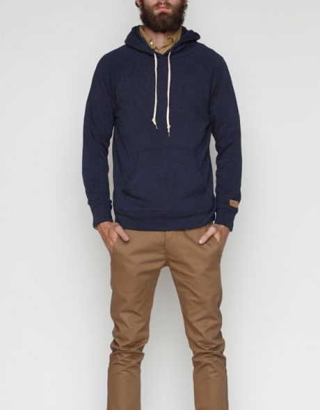 Hoodie and chinos