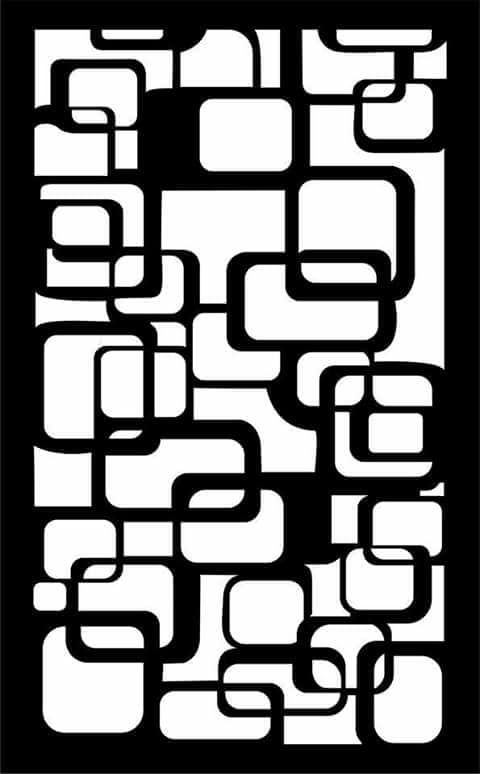Wall Separator Pattern 57 dxf File Free Download | Dxf files | Wall