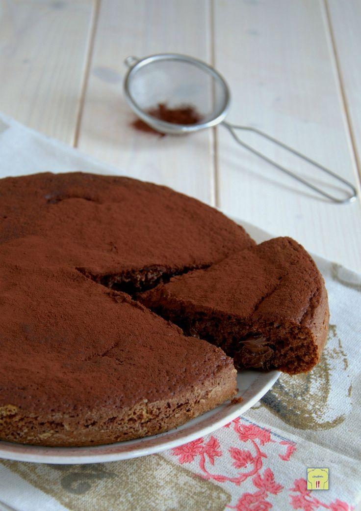torta soffice cacao e nutella