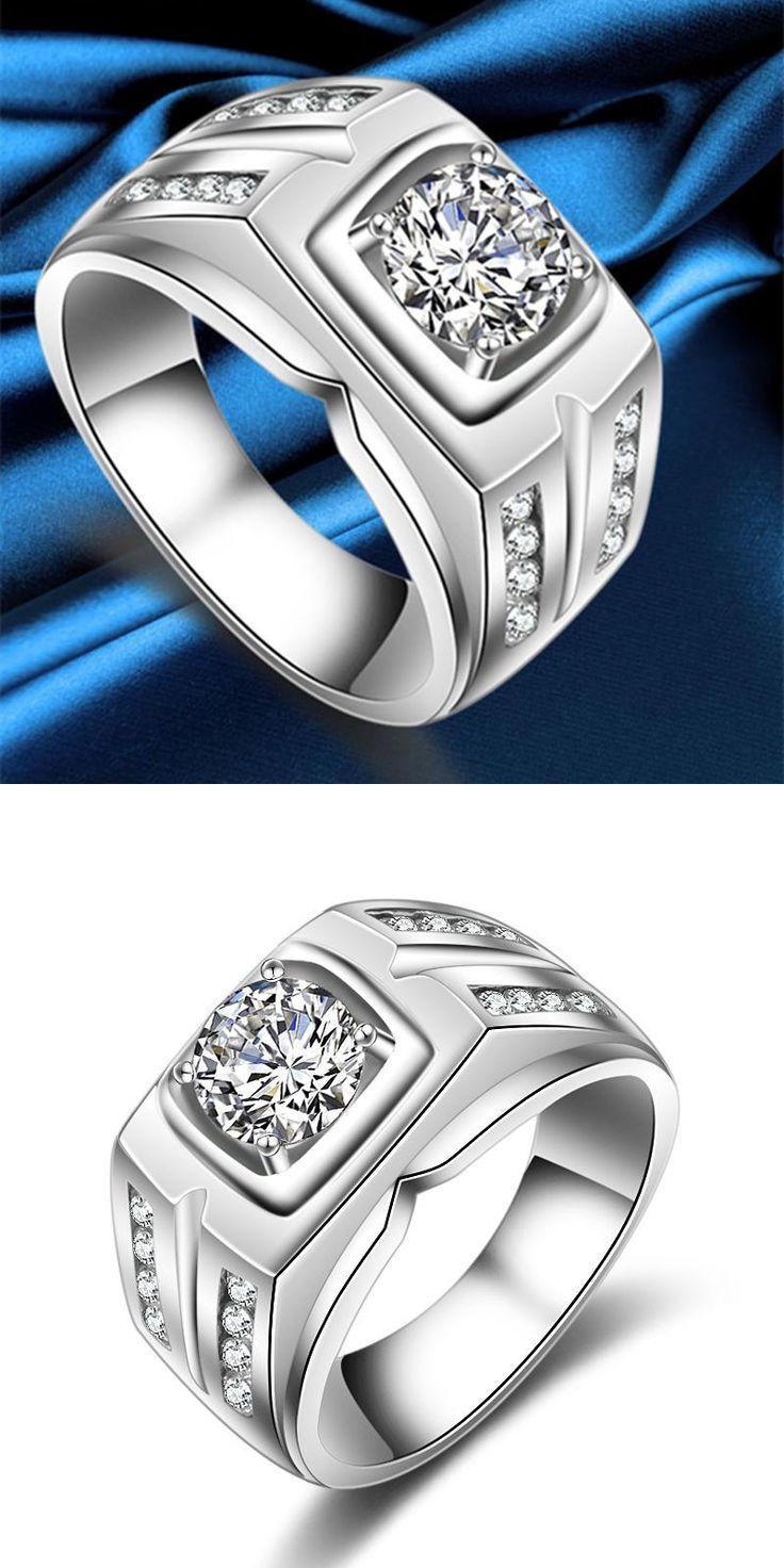 Best 10+ Large Wedding Rings Ideas On Pinterest  Engagement Rings Uk, Wedding  Rings Rose Gold And Gold Wedding Rings