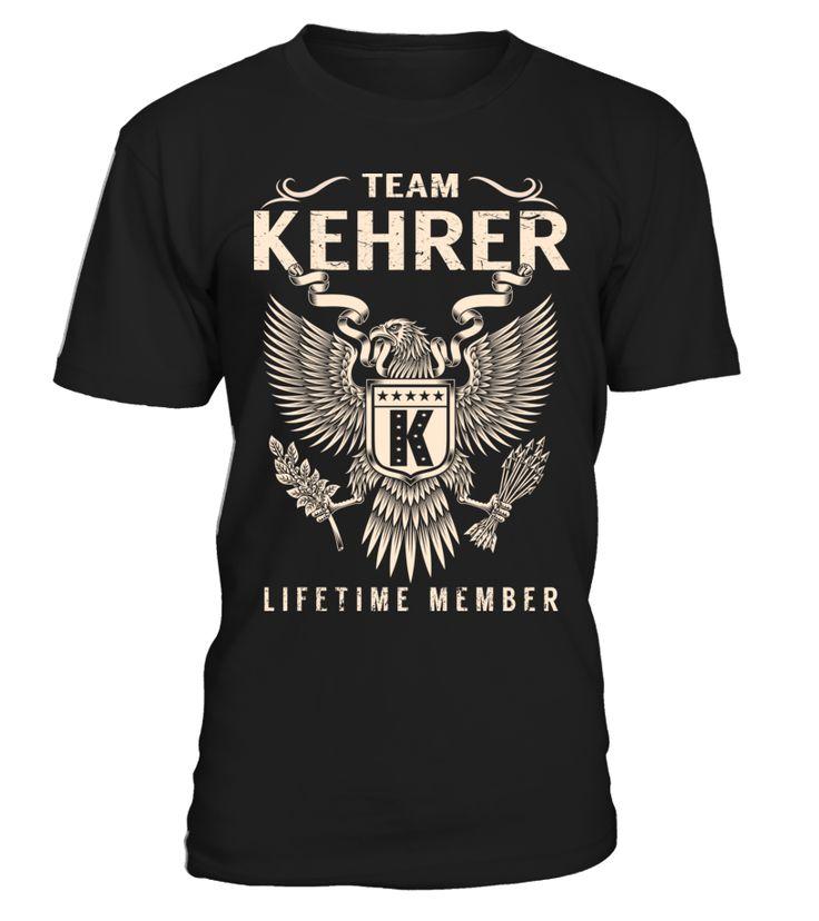 Team KEHRER - Lifetime Member